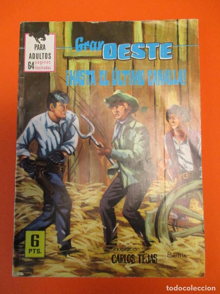 GRAN OESTE / MONTANA OESTE (1958, FERMA) 380 · 26-VIII-1965 · GRAN OESTE (Tebeos y Comics - Ferma - Gran Oeste)