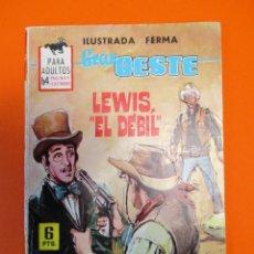 Tebeos: GRAN OESTE / MONTANA OESTE (1958, FERMA) 319 · 25-VI-1964 · GRAN OESTE. Lote 249047530