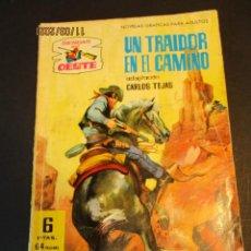Livros de Banda Desenhada: SENDAS SALVAJES / SENDAS DEL OESTE (1962, FERMA) 130 · 28-XI-1966 · SENDAS SALVAJES / SENDAS DEL OES. Lote 249094630