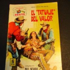 Tebeos: SENDAS SALVAJES / SENDAS DEL OESTE (1962, FERMA) 202 · 15-IV-1968 · SENDAS SALVAJES / SENDAS DEL OE. Lote 249108195