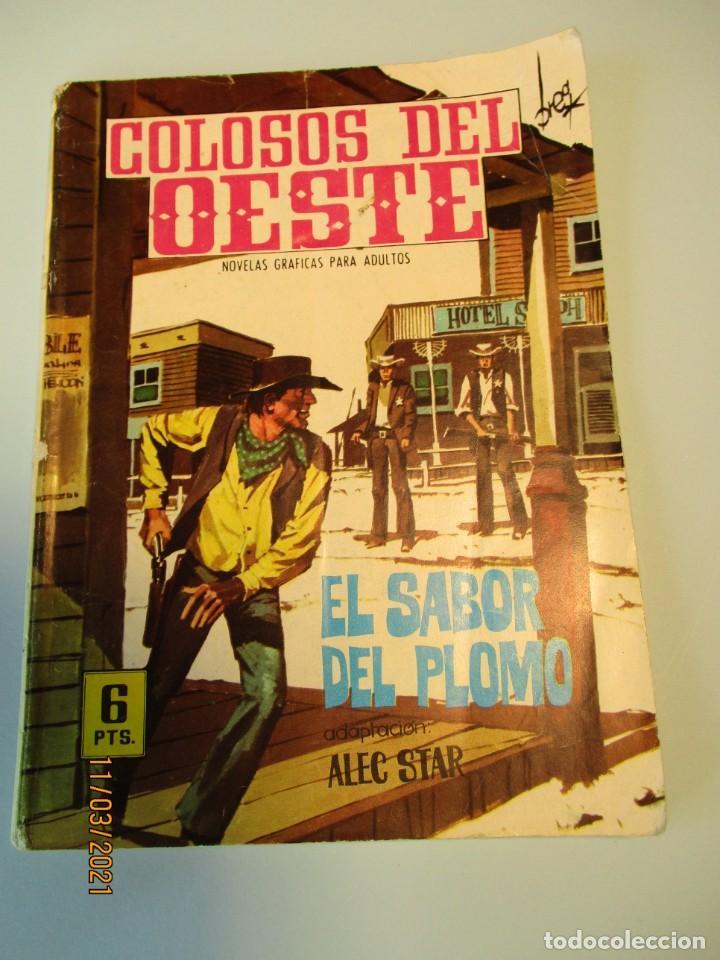 COLOSOS DEL OESTE (1964, FERMA) 96 · 11-II-1966 · EL SABOR DEL PLOMO (Tebeos y Comics - Ferma - Colosos de Oeste)