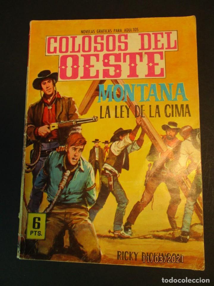 COLOSOS DEL OESTE (1964, FERMA) 68 · 30-VII-1965 · MONTANA. LA LEY DE LA CIMA (Tebeos y Comics - Ferma - Colosos de Oeste)