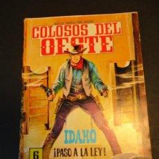Tebeos: COLOSOS DEL OESTE (1964, FERMA) 62 · 18-VI-1965 · COLOSOS DEL OESTE. Lote 249110425