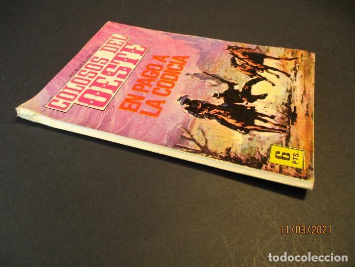 Tebeos: COLOSOS DEL OESTE (1964, FERMA) 117 · 8-VII-1966 · EN PAGO A LA CODICIA - Foto 2 - 249110790