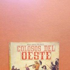 Tebeos: ''LONG HAIR'' MELENA LARGA .NOVELAS PARA ADULTOS. COLOSOS DEL OESTE. EDITORIAL FERMA.. Lote 253414695