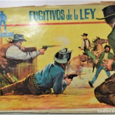 Tebeos: COLECCIÓN CINECOLOR - FUGITIVOS DE LA LEY - EDITORIAL FERMA AÑO 1963. Lote 253645200