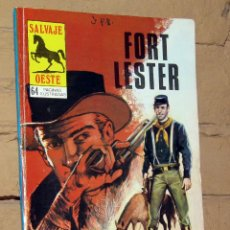 Tebeos: SALVAJE OESTE - FORT LESTER - FERMA - COMIC OESTE. Lote 253739825