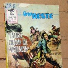 Tebeos: GRAN OESTE - LATIGO CIUDAD DE VIOLENCIA - FERMA. Lote 253741470