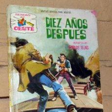 Tebeos: SENDAS DEL OESTE - DIEZ AÑOS DESPUÉS - NOVELAS GRAFICAS PARA ADULTOS. Lote 253743200