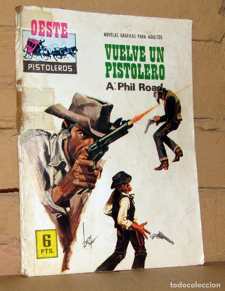 OESTE PISTOLEROS - VUELVE UN PISTOLERO - NOVELAS GRAFICAS PARA ADULTOS (Tebeos y Comics - Ferma - Gran Oeste)