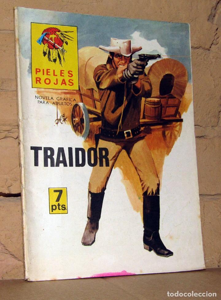 PIELES ROJAS -TRAIDOR - NOVELAS GRAFICAS PARA ADULTOS (Tebeos y Comics - Ferma - Gran Oeste)