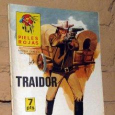 Tebeos: PIELES ROJAS -TRAIDOR - NOVELAS GRAFICAS PARA ADULTOS. Lote 253743500