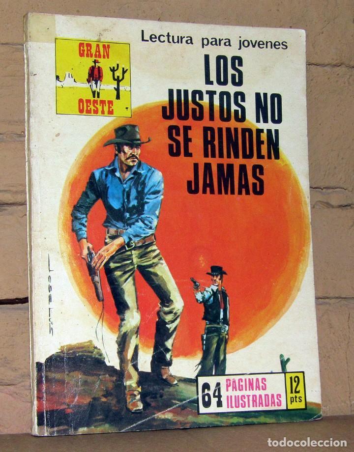 GRAN OESTE - LOS JUSTOS NO SE RINDEN JAMAS - (Tebeos y Comics - Ferma - Gran Oeste)