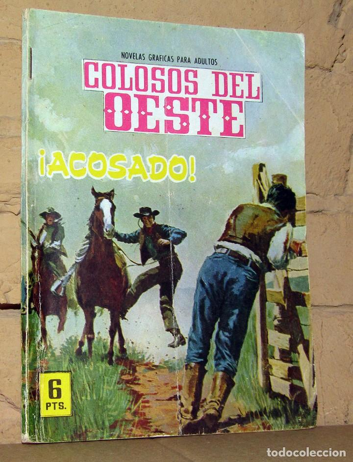 COLOSOS DEL OESTE - ACOSADO - FERMA (Tebeos y Comics - Ferma - Colosos de Oeste)