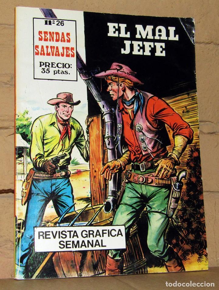 SENDAS SALVAJES - EL MAL JEFE - FERMA (Tebeos y Comics - Ferma - Otros)