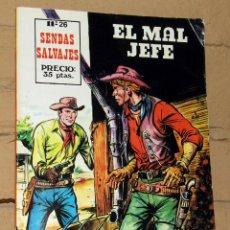 Tebeos: SENDAS SALVAJES - EL MAL JEFE - FERMA. Lote 253744210