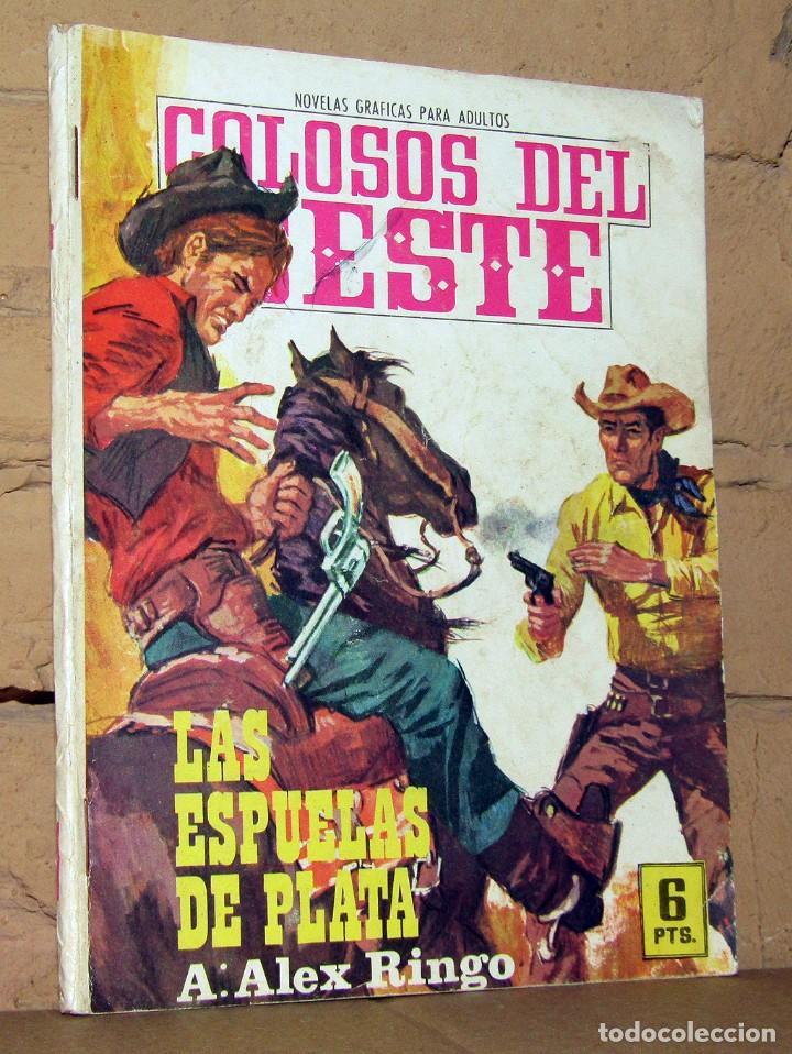 COLOSOS DEL OESTE - LAS ESPUELAS DE PLATA - FERMA (Tebeos y Comics - Ferma - Colosos de Oeste)