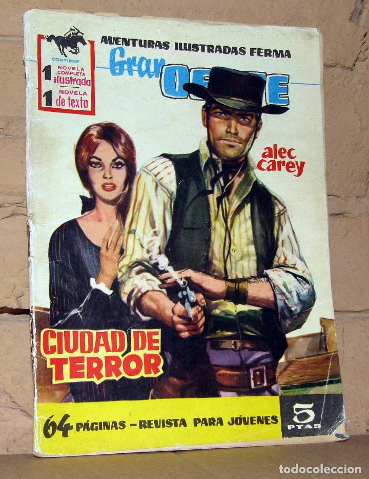 GRAN OESTE - CIUDAD DE TERROR - FERMA (Tebeos y Comics - Ferma - Colosos de Oeste)