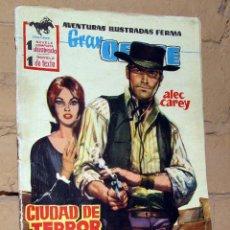 Tebeos: GRAN OESTE - CIUDAD DE TERROR - FERMA. Lote 253744535