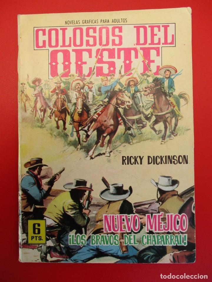 COLOSOS DEL OESTE (1964, FERMA) 65 · 9-VII-1965 · NUEVO MÉJICO. LOS BRAVOS DEL CHAPARRAL (Tebeos y Comics - Ferma - Colosos de Oeste)