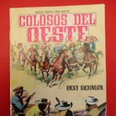 Tebeos: COLOSOS DEL OESTE (1964, FERMA) 65 · 9-VII-1965 · NUEVO MÉJICO. LOS BRAVOS DEL CHAPARRAL. Lote 254094310