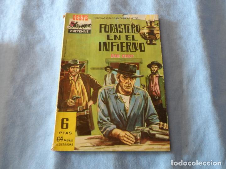 OESTE CHEYENNE Nº 7 - FERMA 1963 - JEAN MARAIS FOTO (Tebeos y Comics - Ferma - Otros)