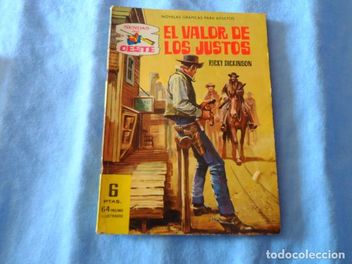 SENDAS DEL OESTE Nº 123 FERMA - EL VALOR DE LOS JUSTOS - (Tebeos y Comics - Ferma - Otros)