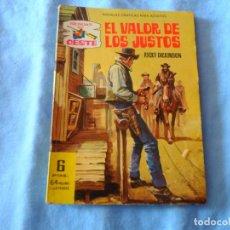 Tebeos: SENDAS DEL OESTE Nº 123 FERMA - EL VALOR DE LOS JUSTOS -. Lote 254269505