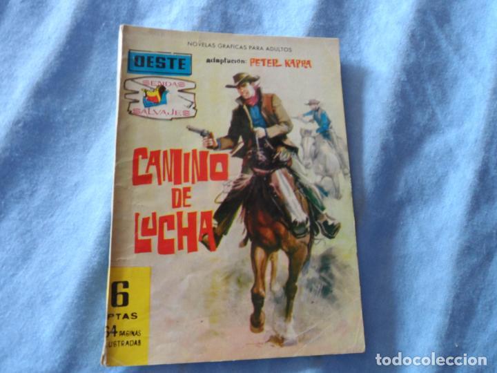 SENDAS SALVAJES Nº 44 EDITORIAL FERMA (Tebeos y Comics - Ferma - Colosos de Oeste)