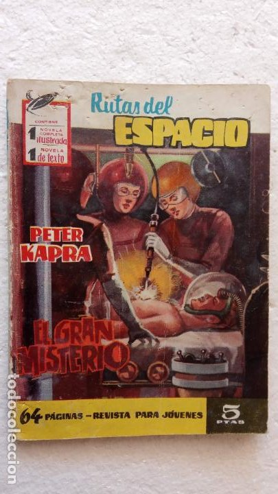 Tebeos: RUTAS DEL ESPACIO FERMA 1959 - 1,2,3,4,5,6,7,9 - MUY BIEN CONSERVADOS, VER FOTOS - Foto 14 - 254322195