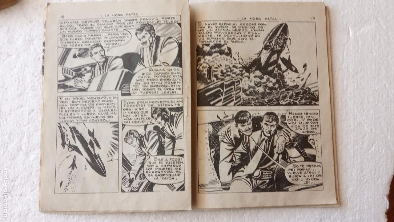 Tebeos: RUTAS DEL ESPACIO FERMA 1959 - 1,2,3,4,5,6,7,9 - MUY BIEN CONSERVADOS, VER FOTOS - Foto 22 - 254322195