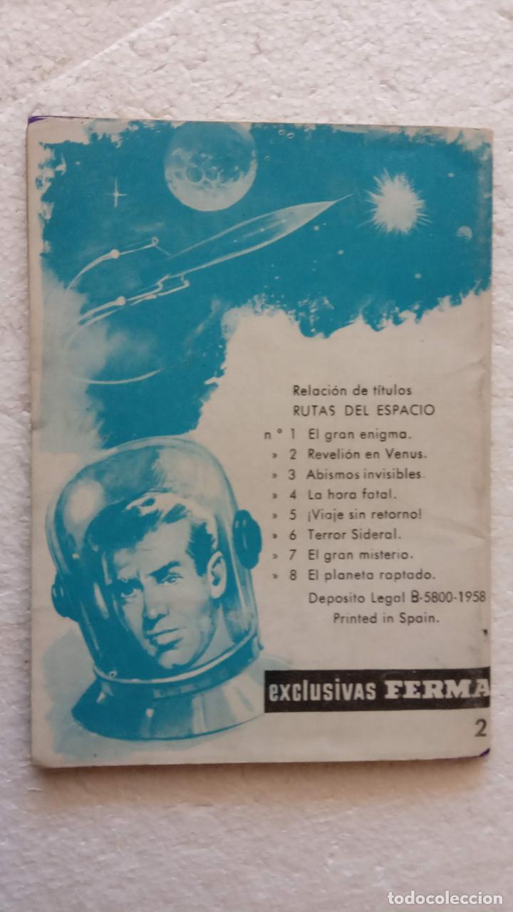Tebeos: RUTAS DEL ESPACIO FERMA 1959 - 1,2,3,4,5,6,7,9 - MUY BIEN CONSERVADOS, VER FOTOS - Foto 27 - 254322195