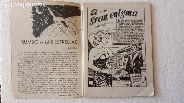 Tebeos: RUTAS DEL ESPACIO FERMA 1959 - 1,2,3,4,5,6,7,9 - MUY BIEN CONSERVADOS, VER FOTOS - Foto 34 - 254322195