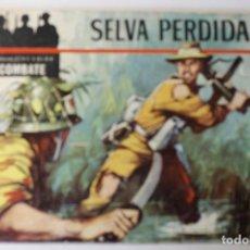 Tebeos: COLECCIÓN COLOR COMBATE, EDITORIAL FERMA 1963, NÚMEROS 1,2,3 Y 4. Lote 254358535