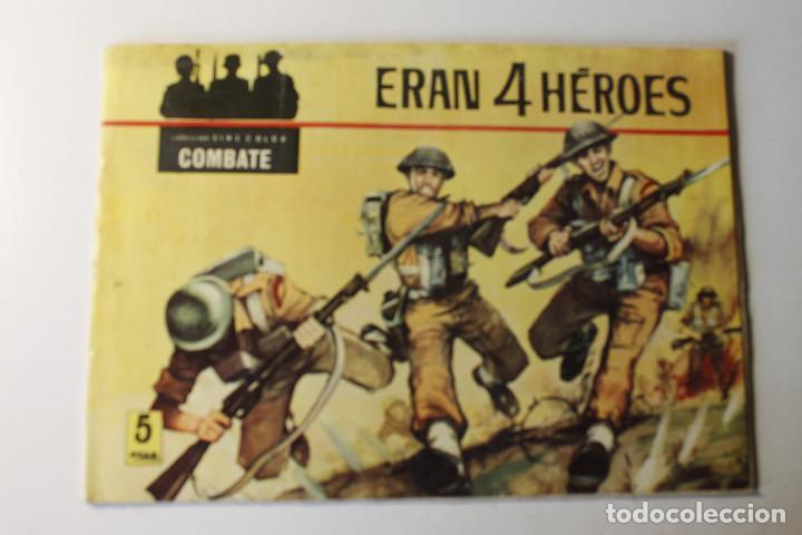 Tebeos: Colección color COMBATE, editorial Ferma 1963, números 1,2,3 y 4 - Foto 2 - 254358535