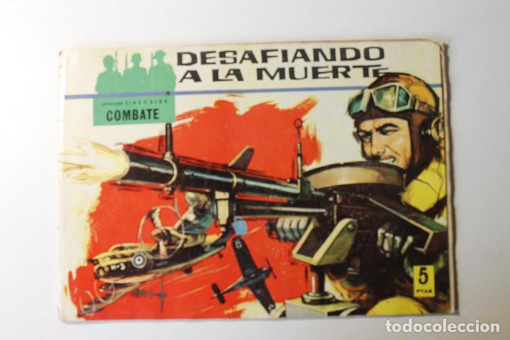Tebeos: Colección color COMBATE, editorial Ferma 1963, números 1,2,3 y 4 - Foto 3 - 254358535