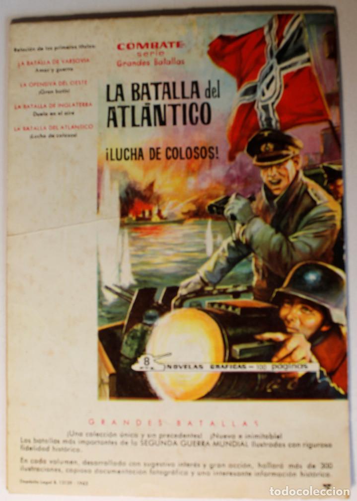 Tebeos: Colección color COMBATE, editorial Ferma 1963, números 1,2,3 y 4 - Foto 5 - 254358535