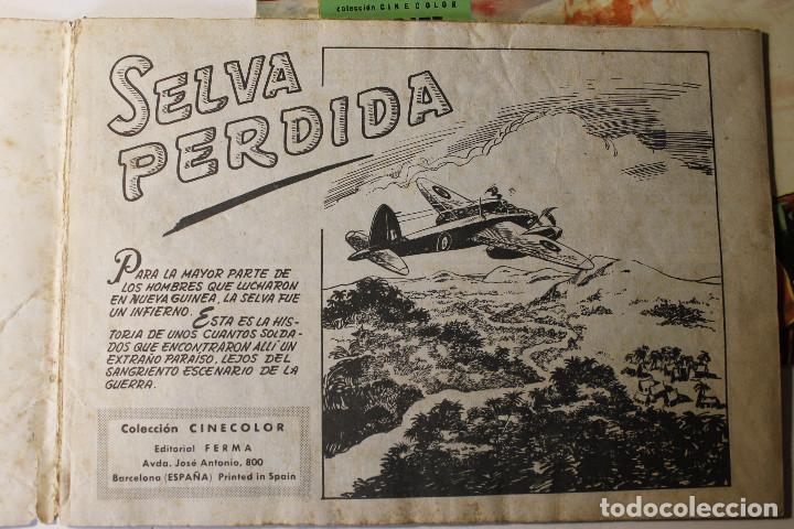 Tebeos: Colección color COMBATE, editorial Ferma 1963, números 1,2,3 y 4 - Foto 7 - 254358535