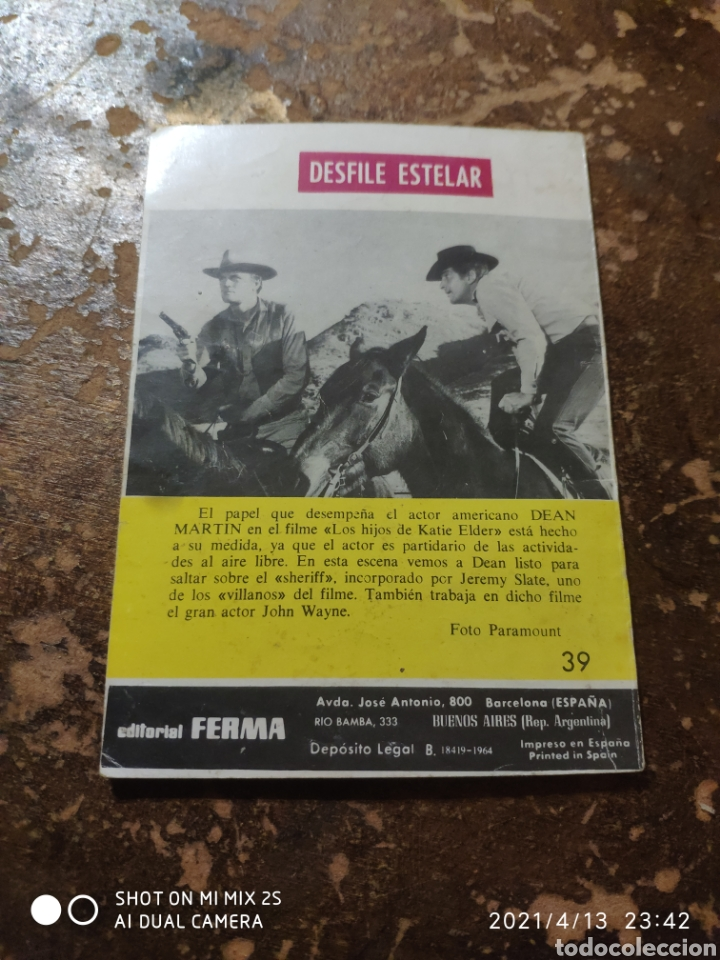 Tebeos: COLOSOS DEL OESTE: ¡SE ADMITEN APUESTAS! (LUKE SHORT) (ED. FERMA) - Foto 2 - 254457545