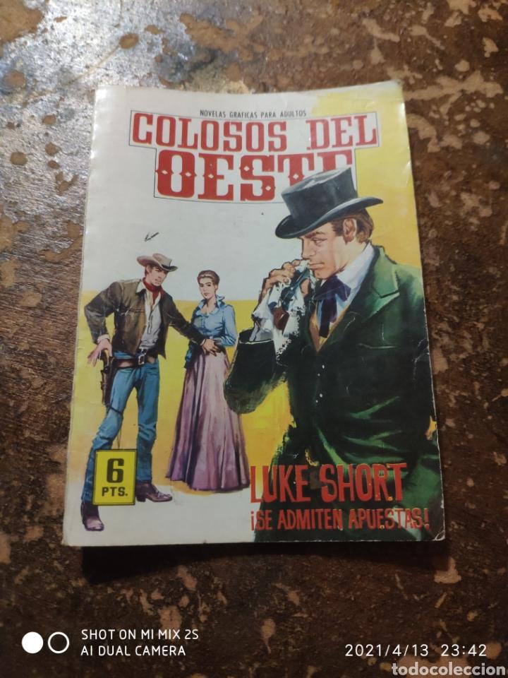 COLOSOS DEL OESTE: ¡SE ADMITEN APUESTAS! (LUKE SHORT) (ED. FERMA) (Tebeos y Comics - Ferma - Colosos de Oeste)