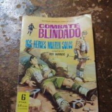 Tebeos: COMBATE BLINDADO: LOS HEROES MUEREN SOLOS (ROY WANDO) (ED. FERMA). Lote 254457750