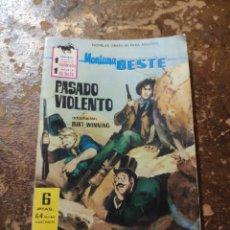 Tebeos: MONTAÑA OESTE N° 234: PASADO VIOLENTO (BURT WINNING) (FERMA). Lote 254458225