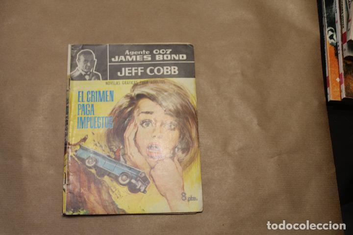 AGENTE 007 JAMES BOND Nº 4, NOVELA GRÁFICA, EDITORIAL FERMA (Tebeos y Comics - Ferma - Agente Secreto)