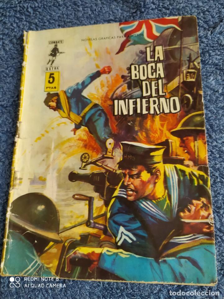 COMBATE EXTRA 6 LA BOCA DEL INFIERNO FERMA - ROMMEL VER FOTOS (Tebeos y Comics - Ferma - Combate)
