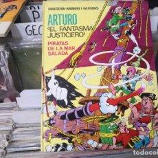 Tebeos: ARTURO, EL FANTASMA JUSTICIERO * ED. FERMA 1965 * PIRATAS DE LA MAR SALADA. Lote 254892450