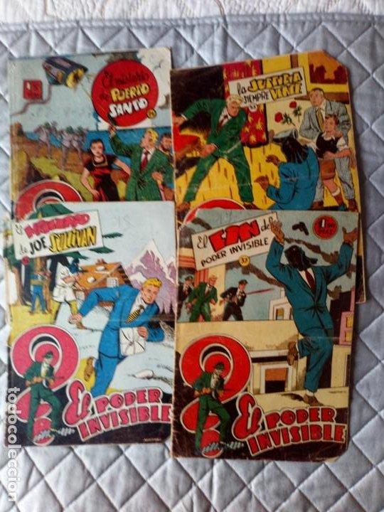 EL PODER INVISIBLE LOTE DE 5 TEBEOS (Nº 24-27-33-36-37 ÚLTIMO DE LA COLECCIÓN) FERMA (Tebeos y Comics - Ferma - Otros)