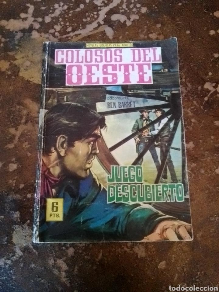 COLOSOS DEL OESTE: JUEGO DESCUBIERTO (BEN BARRET) (ED. FERMA) (Tebeos y Comics - Ferma - Colosos de Oeste)
