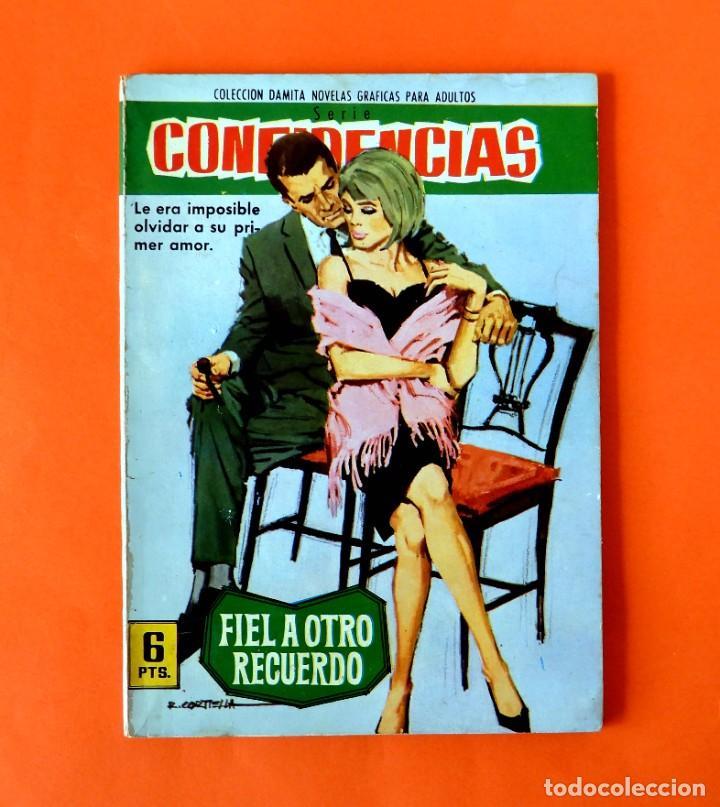 CONFIDENCIAS - Nº 309 - COLECCION DAMITA - NOVELA GRAFICA - 1962 - EDIT FERMA (Tebeos y Comics - Ferma - Otros)