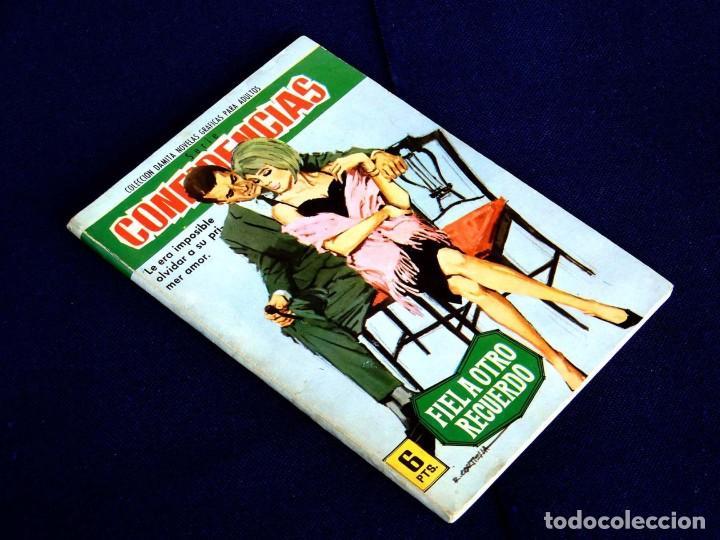 Tebeos: CONFIDENCIAS - Nº 309 - COLECCION DAMITA - NOVELA GRAFICA - 1962 - EDIT FERMA - Foto 2 - 255614500
