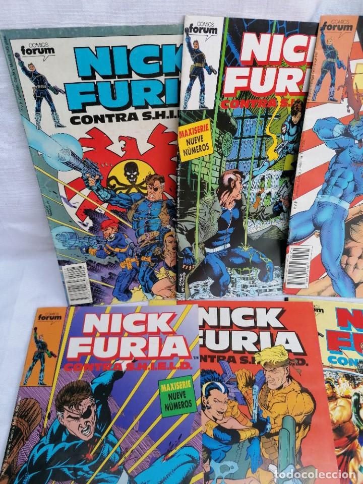 Tebeos: Lote de antiguos tebeos de Nick Furia agente de Shild - Foto 2 - 257342645